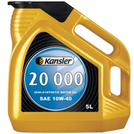 KANSLER  20 000  SAE 10W-40  Semi-synthetic